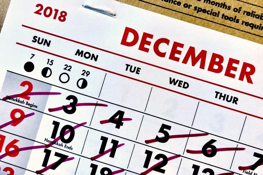 IF calendar