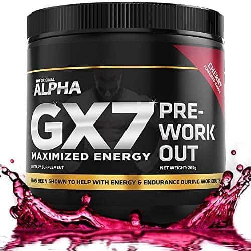 ALPHA GX7 Pre-Workout