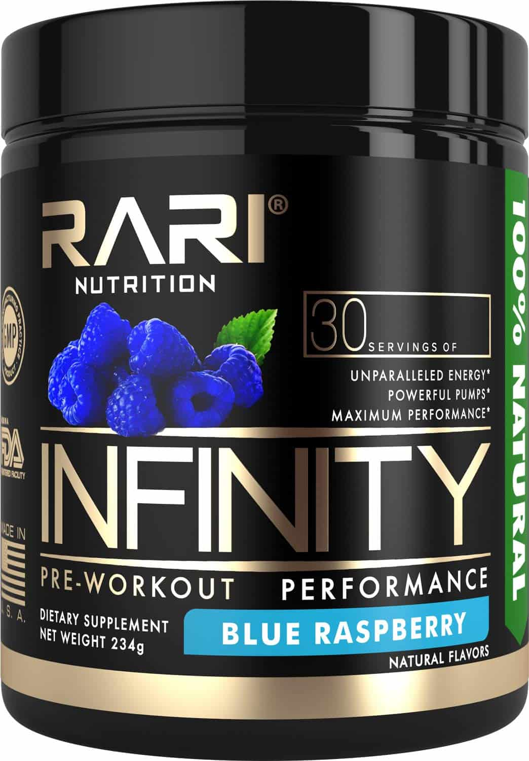 RARI Nutrition - Infinity Pre-Workout Powder