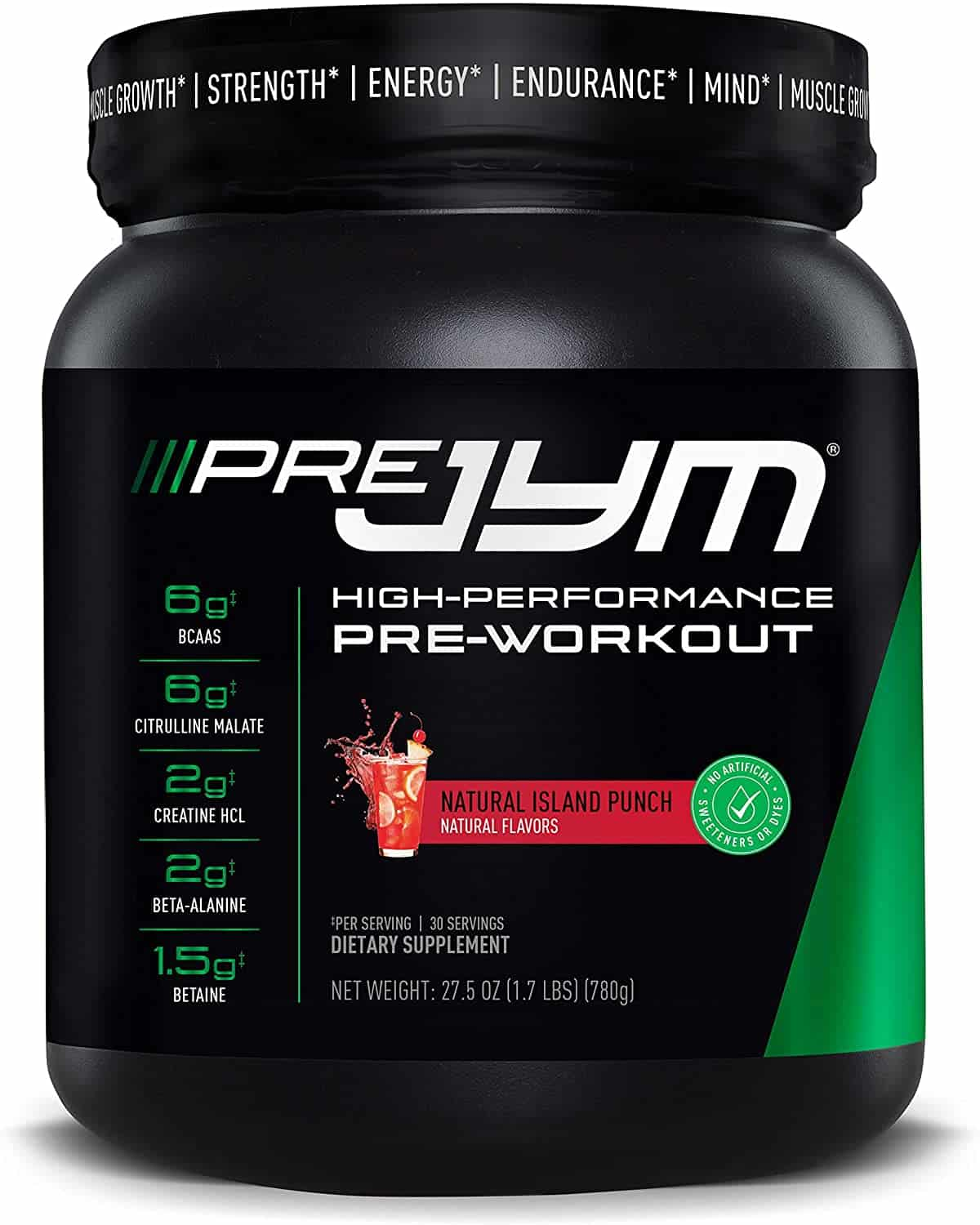 Pre JYM Pre-Workout Powder