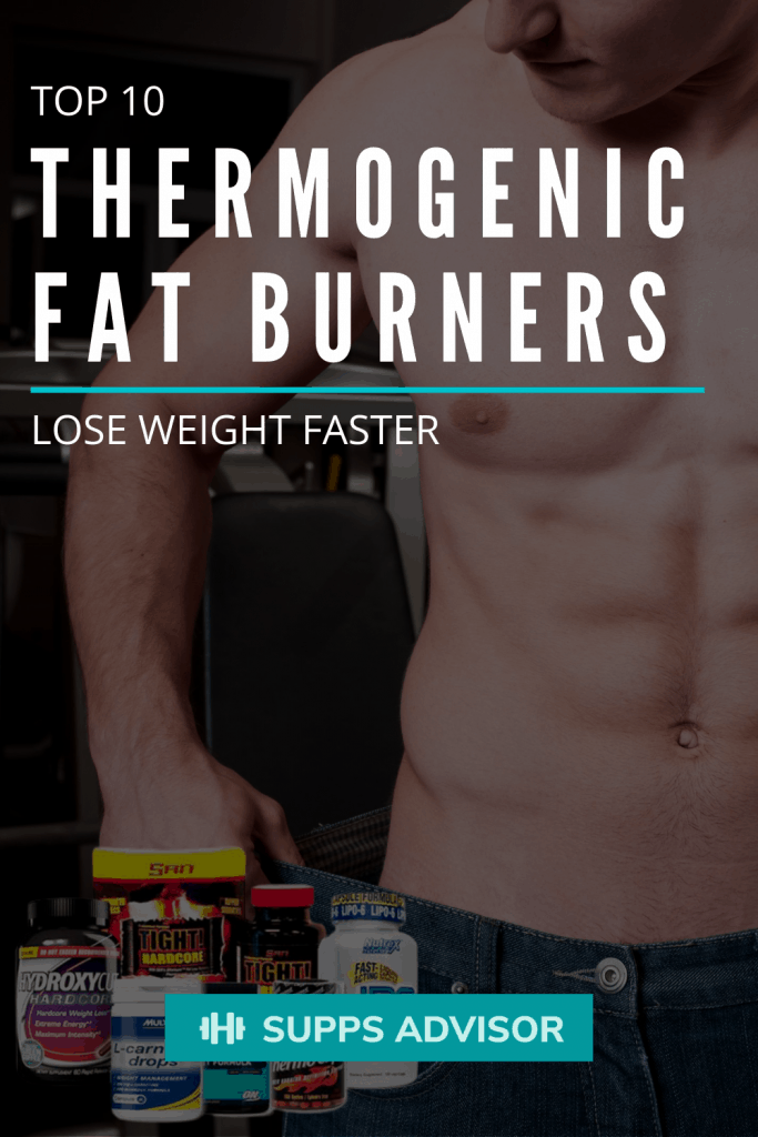 Top 10 Thermogenic Fat Burners Guide - lose weight faster - suppsadvisor.com