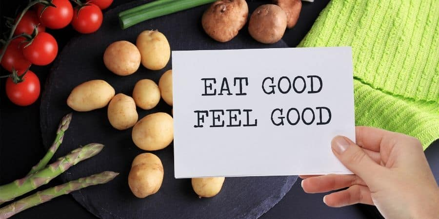 Raise your awareness of how food makes you feel. - 5 Healthy Eating Habits to Improve Your Relationship with Food