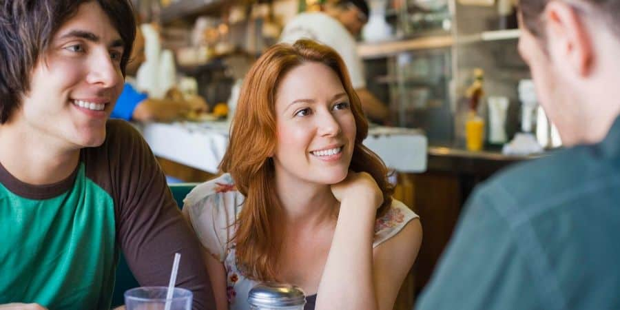 Shift your focus to company and conversations - 5 Healthy Eating Habits to Improve Your Relationship with Food