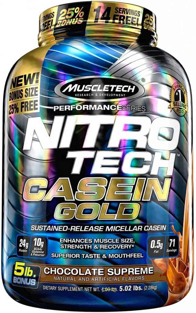 MuscleTech NitroTech Casein Gold Protein