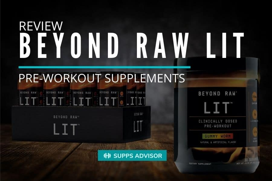 Beyond Raw LID - Pre-workout supplements review