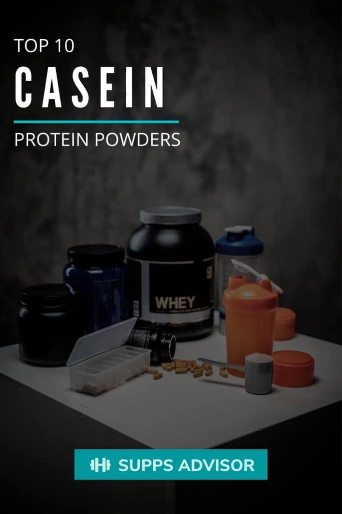 Top 10 Casein Protein Powders - suppsadvisor.com