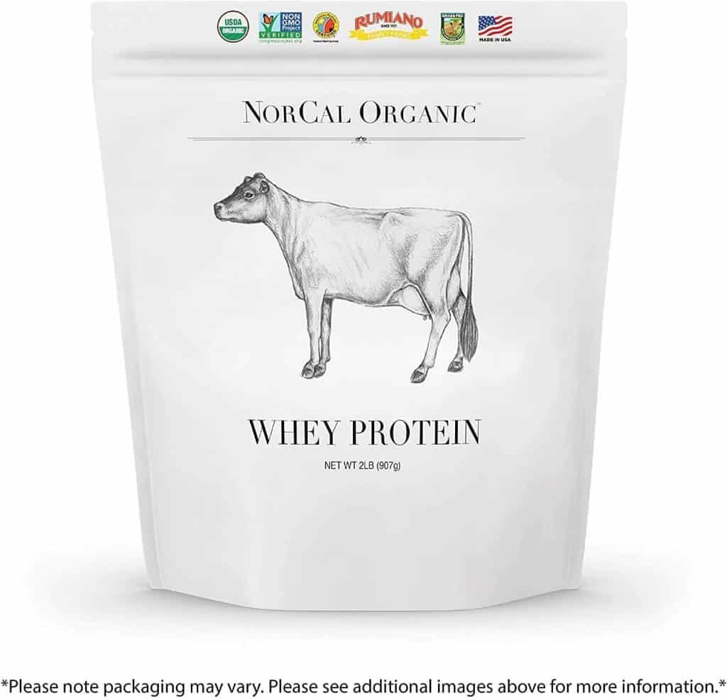 Norcal Organic Grass Fed Whey Protein