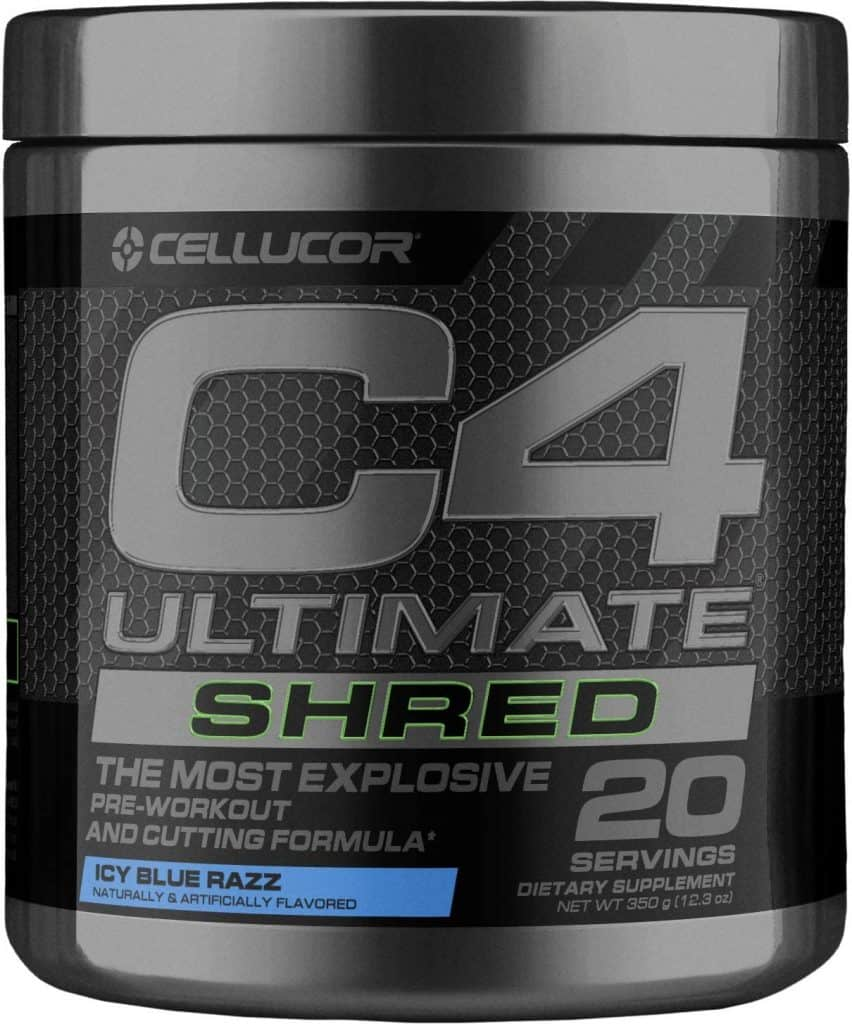 Cellucor C4 Ultimate Shred Fat Burner