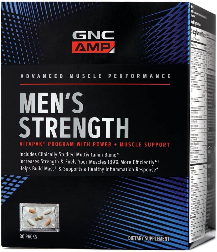 GNC AMP Men's Strength Vitapak