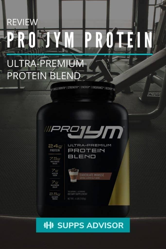 Pro Jym Protein Review - suppsadvisor.com