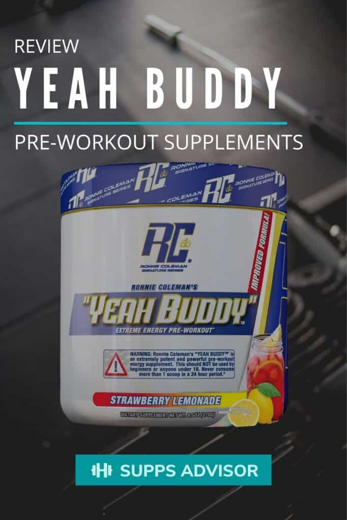 Yeah Buddy Pre-Workout Review - suppsadvisor.com