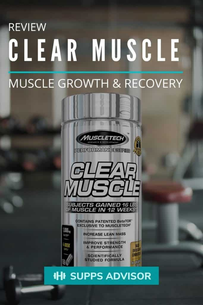 Clear Muscle Review - suppsadvisor.com