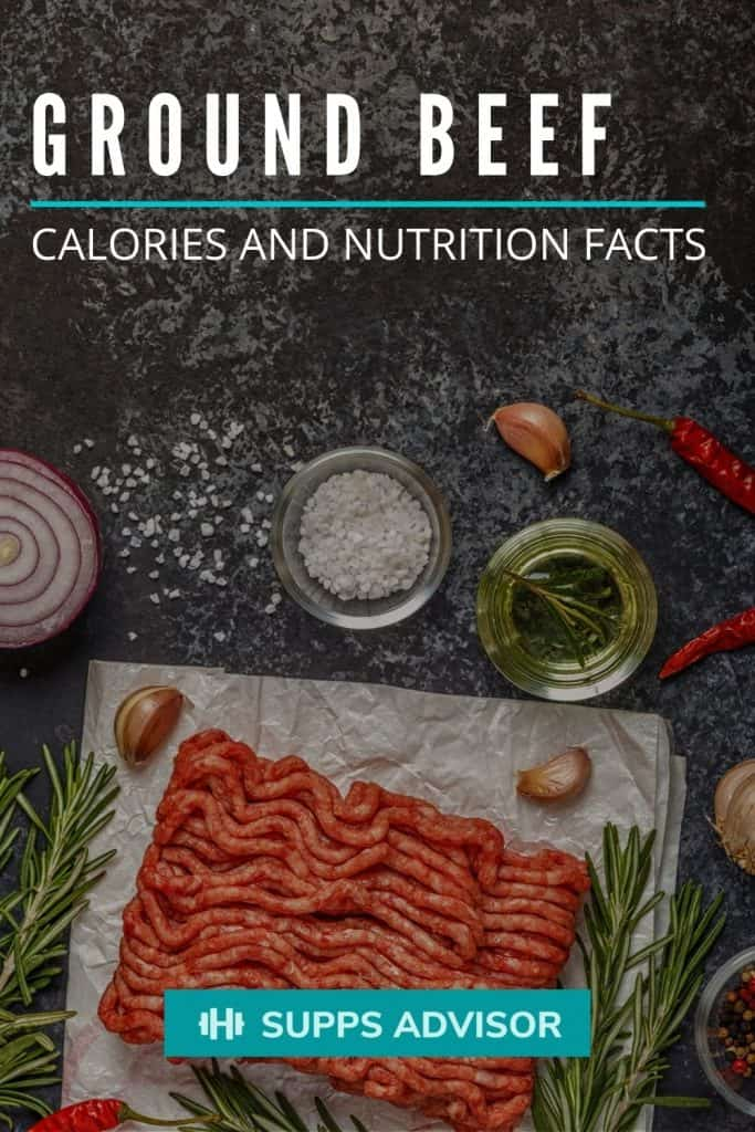 Ground Beef Calories and Nutrition Facts - suppsadvisor.com
