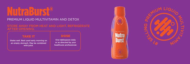 How to take NutraBurst
